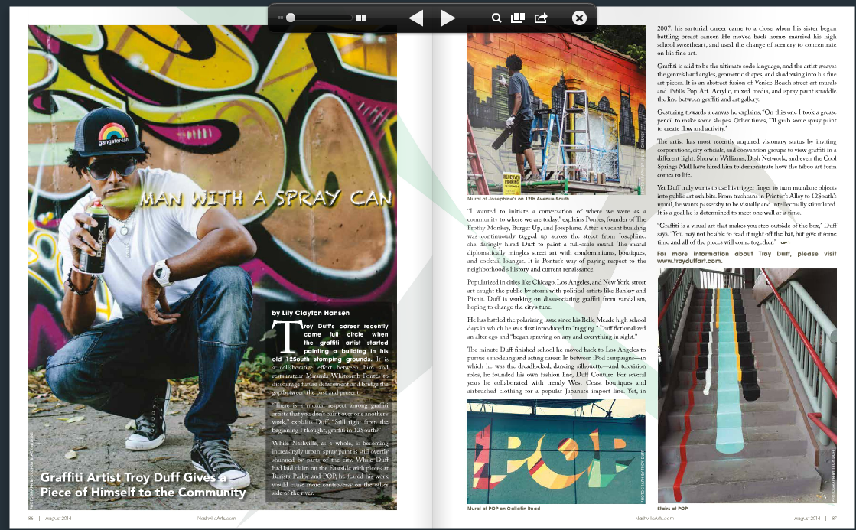 New Article: Nashville Arts Magazine