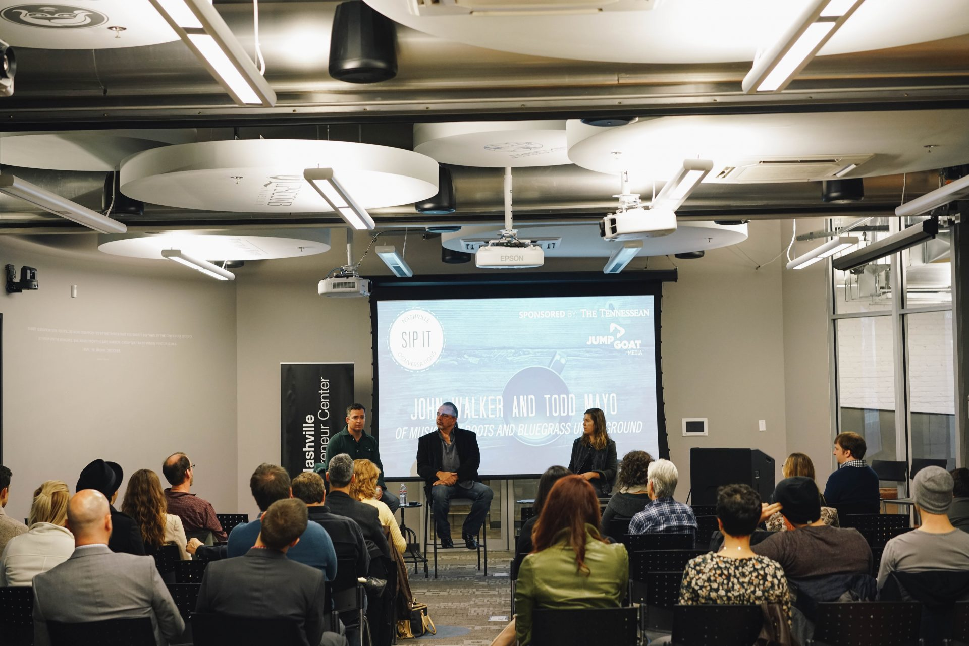 Sip It! Series at the Entrepreneur Center— John Walker + Todd Mayo of Music City Roots