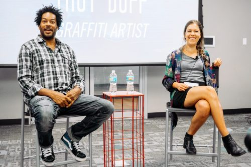 A Look Back at Sip It! Featuring Graffiti Artist Troy Duff