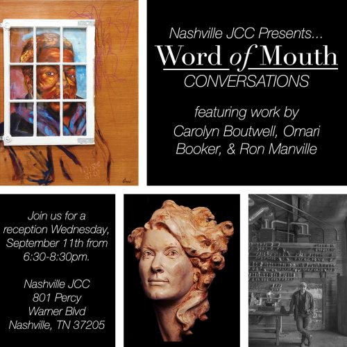 Word of Mouth Conversations Exhibition Launches at the Gordon Jewish Community Center
