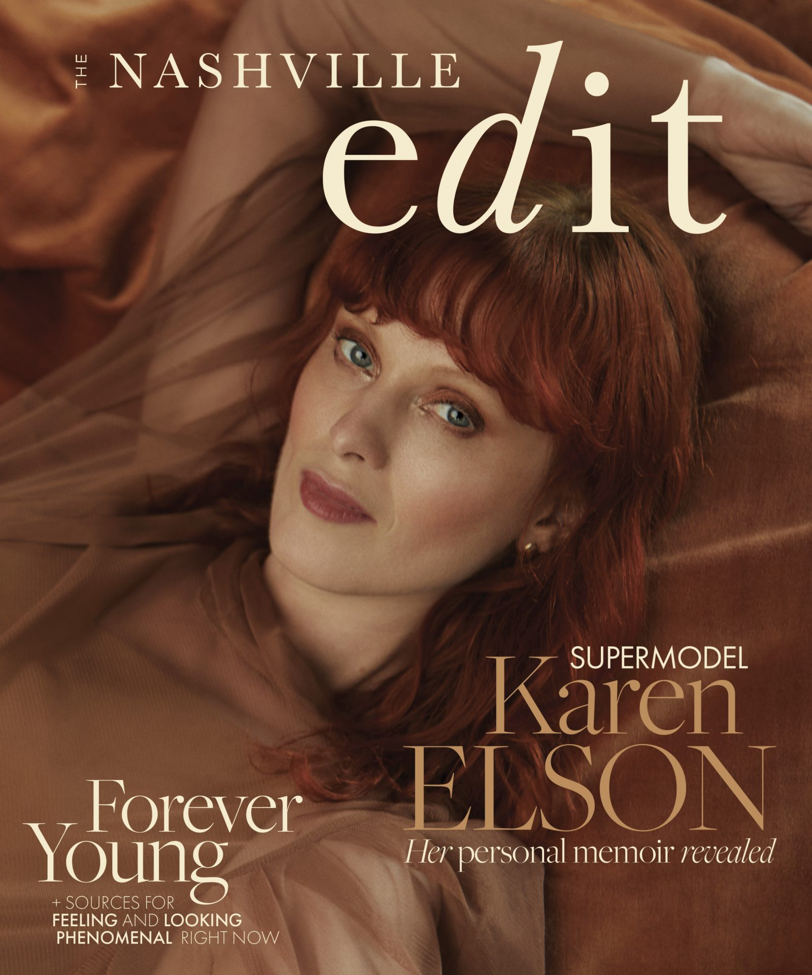 Nashville Edit Cover Story—Supermodel Karen Elson